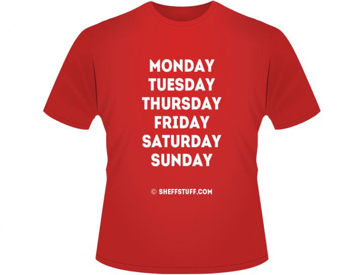 Blades Week T-Shirt (front)